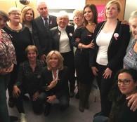 Mme Brigitte Macron dans les locaux de Une Luciole dans la nuit
