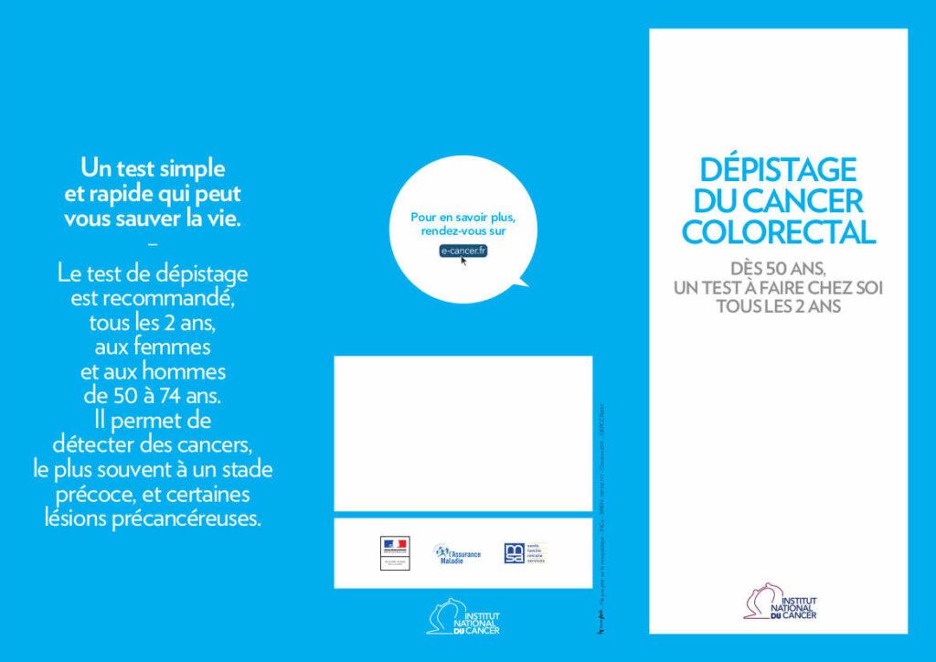 plaquette dépistage cancer colorectal
